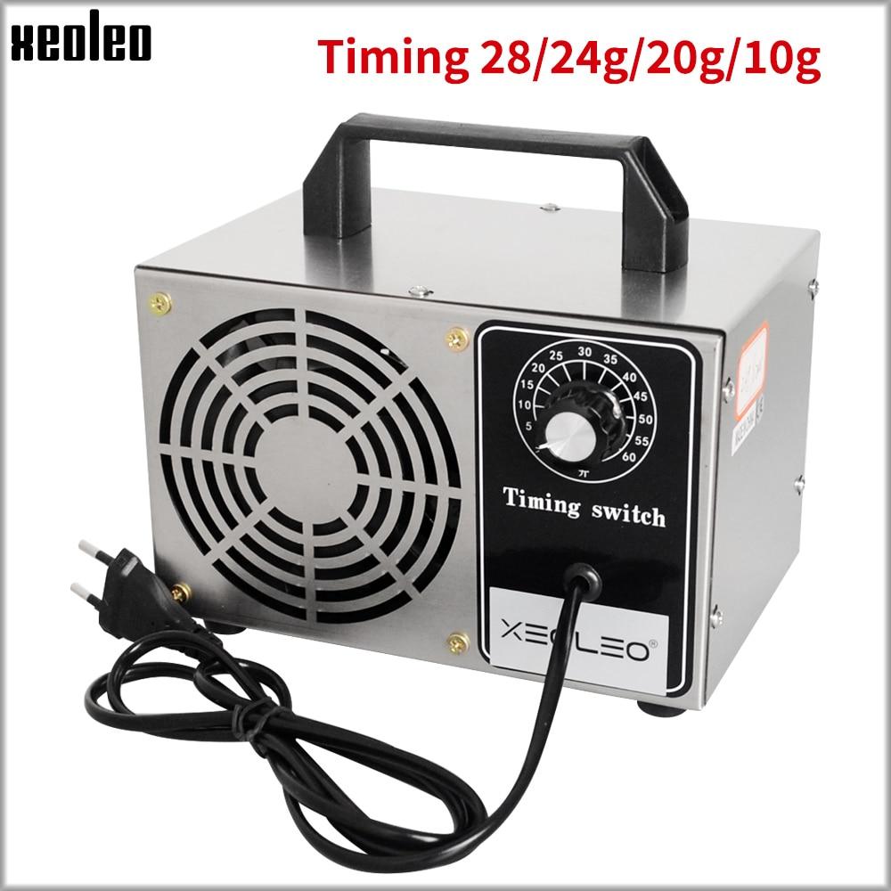 XEOLEO Ozone Generator Air Sterilizer Ozone Sterilizer Ozone Disinfection Machine 10/24g/28g Home Portable Air Purifier For Room