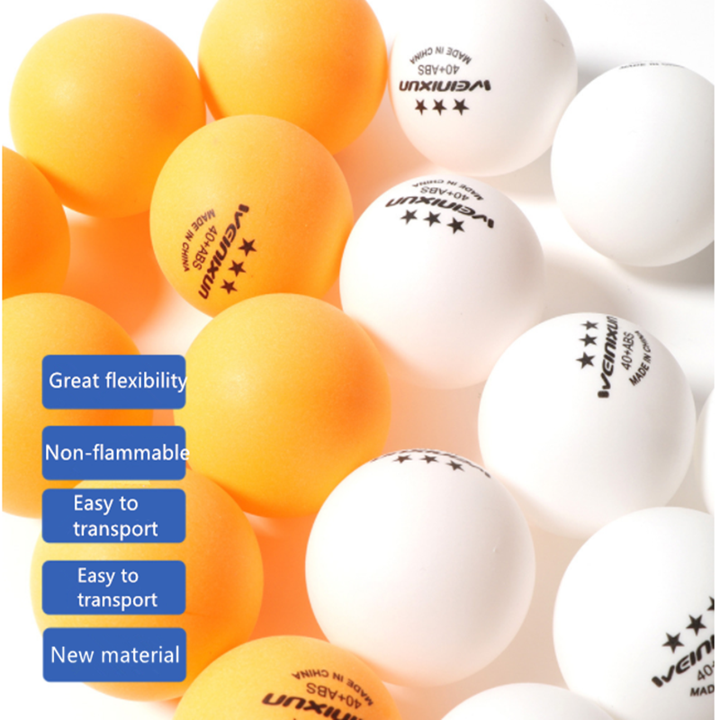 Professional <font><b>Table</b></font> <font><b>Tennis</b></font> <font><b>Balls</b></font> 3 Star 2.8g 40+mm New <font><b>ABS</b></font> Plastic <font><b>Ball</b></font> For Ping Pong Competition Training Accessories image