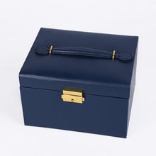 2020 New Style 2 Layers High Quality PU Classical Jewelry Box