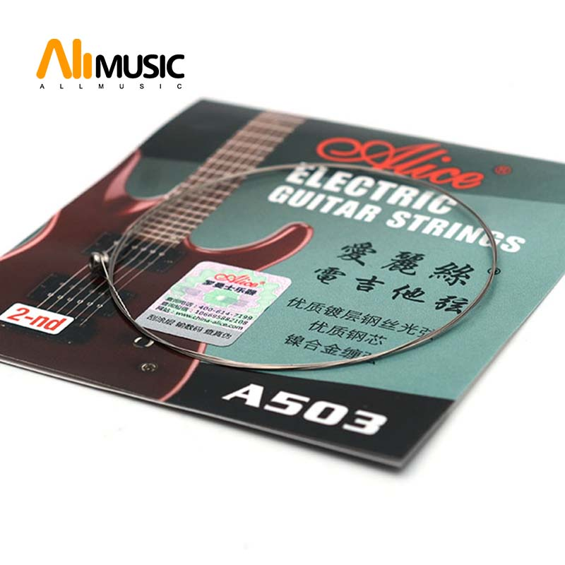 Alice A503SL Electric Guitar String 2nd B String .011 Second String for Electric Guitar Guitar Parts Guitar Parts & Accessories  - AliExpress