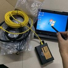 Диагностический инструмент для bmw icom a2 b c с ноутбуком для lenovo thinkpad x201t i7 pcu ram 4g программное обеспечение,12 hdd 500gb готов к использованию