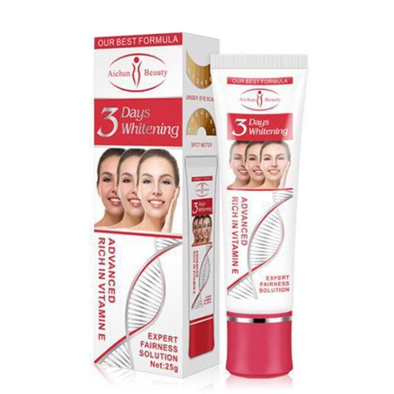 Vitamin E Facial Cream Repair Fade Freckles Remove Dark Spots Melanin Remover Brightening 3 Days Whitening Moisturizing Face