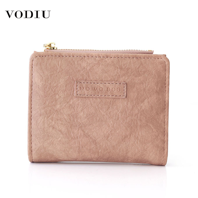2019 Fashion Women Wallet Small Cute Coin Purse Short Cards Holder Wallets Female Short Folding Zipper Procket Clutch Purses