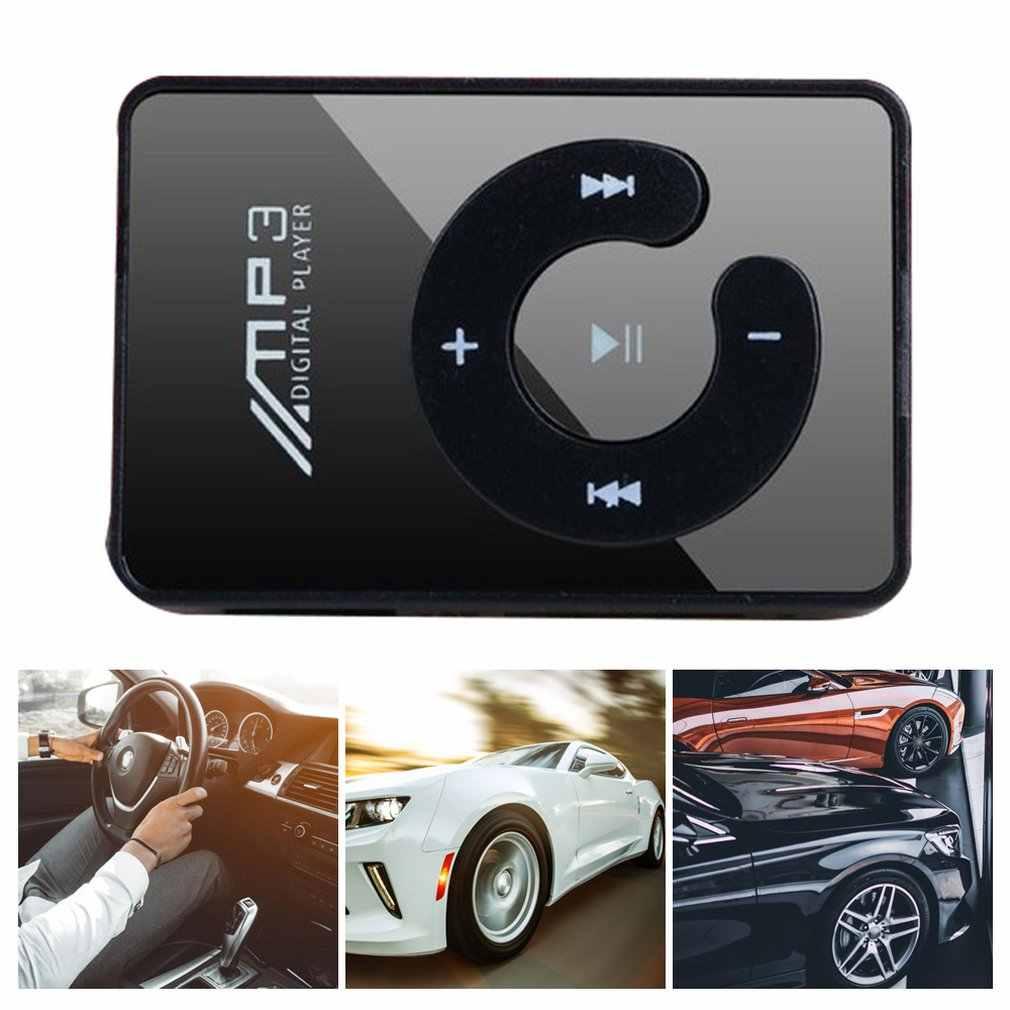 Portátil mini clipe usb mp3 player música mídia suporte micro sd tf cartão de moda alta fidelidade mp3 para esportes ao ar livre
