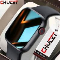 CHYCET-reloj inteligente IWO para hombre y mujer, pulsera deportiva con Monitor de frecuencia cardíaca ECG, Dial/respuesta a llamadas, para IOS y Android, PK HW22, 2021