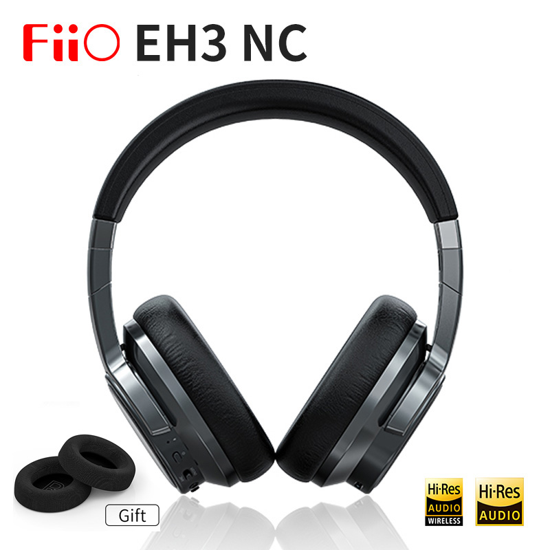 FiiO Eh3 NC Wireless Hifi Bluetooth Headset With CSR8675 Chip, Active Noise Reduction Chip, 45MM Units