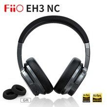 Беспроводная Hi Fi Bluetooth гарнитура FiiO Eh3 NC с чипом CSR8675, чип с активным шумоподавлением, блоки 45 мм