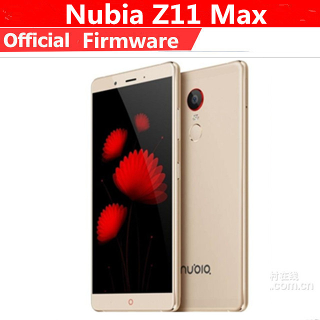 "DHL Fast Delivery ZTE Nubia Z11 Max 4G LTE Cell Phone Android 5.0 6.0"" FHD 1920X1080 4GB RAM 64GB ROM 16.0MP 4000mAh Fingerprint"