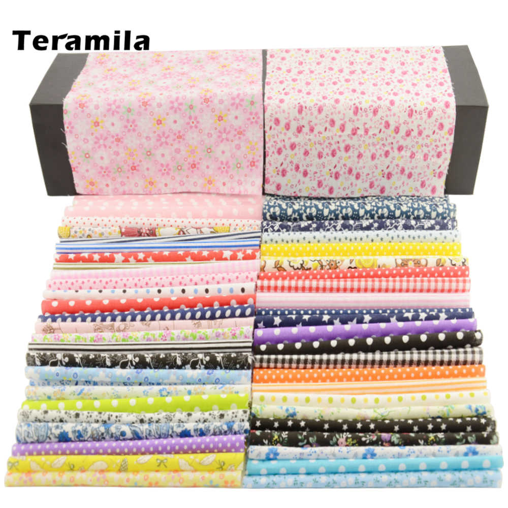 FREE SHIPPING 50pieces 20cm*25cm fabric stash cotton fabric charm packs patchwork fabric quilting tilda no repeat design W3B4-1