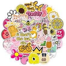 Vsco-Paquete de pegatinas de chica, Stiker Things de Anime para niños en el ordenador portátil, nevera, teléfono, pegatina para maleta, 10/50/100 Uds.