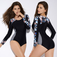 Europe And America Foreign Trade One piece Swimming Suit Printed Sexy WOMEN'S Swimsuit Women Amazon Bathing Suit Swimwear