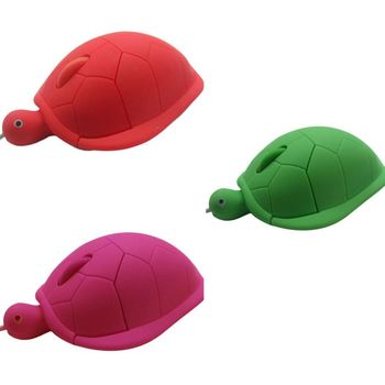 Cute Turtle Mouse Ergonomic Optical USB Wired Mice Funny Shape PC Computer Laptop Mouses 3