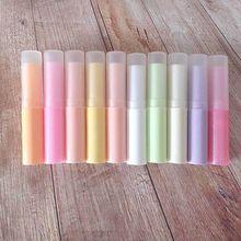 Tubo de bálsamo labial, tubo vacío de tubos de labios, tubo bálsamo labial, tubo bálsamo labial, 10 unids/lote
