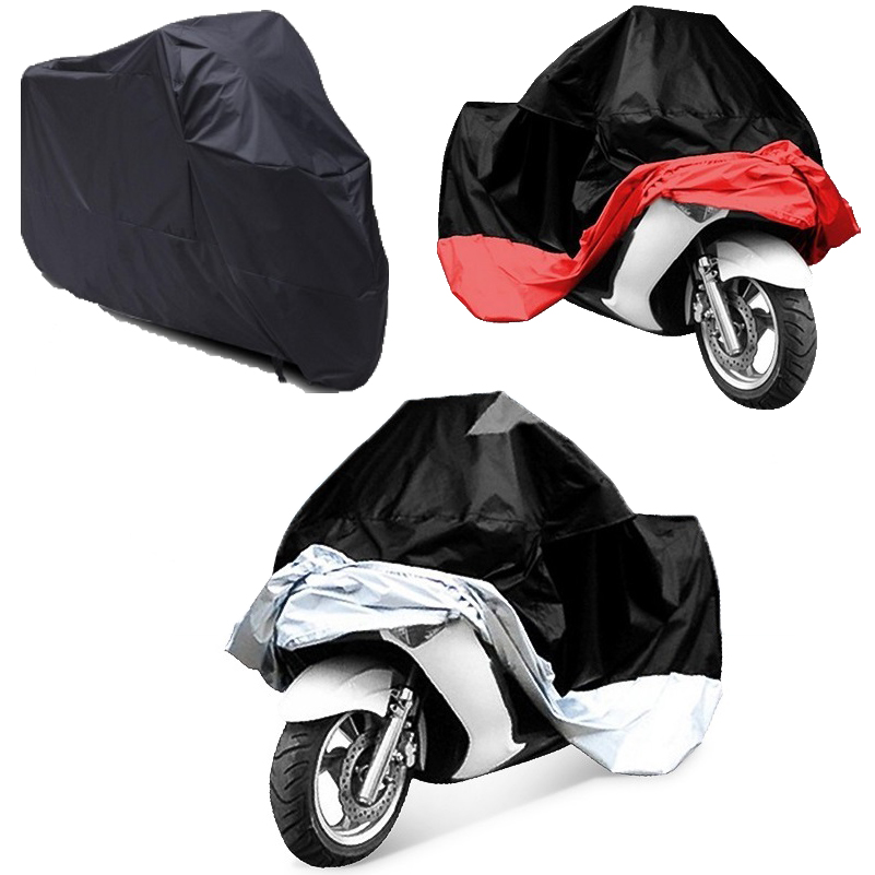 Waterproof Motorbike Motorcycle Cover Dustproof Sun Block UV Protector Outdoor Rain Dust Bike Cover For Honda Scooter Funda Moto