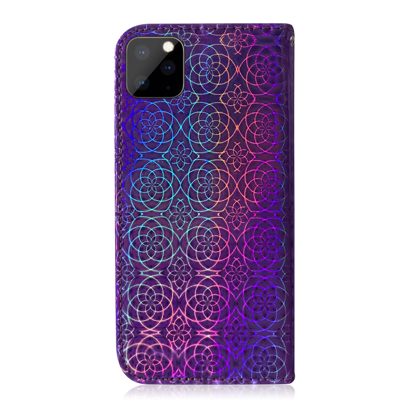 Gradient Colorful PU Leather Case for iPhone 11/11 Pro/11 Pro Max 16