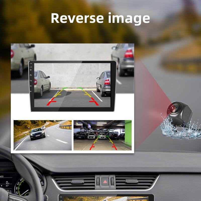 """מערכת ניווט GPS 2din רכב מולטימדיה נגן רדיו 10.1 / 7"""" 8.1 אוטומטית מערכת Inch Android סטריאו ניווט GPS נגן וידאו No 2 דין עבור יוניברסל (4)"""
