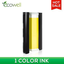 ECOWELL 1pcs KN-36IN KN 108IN color ink cartridge for canon selphy CP1300 CP910 CP900 CP1200 photo printer color ink Cassette(China)