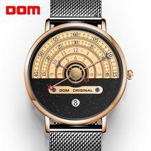 Męskie zegarki modne zegarki kreatywne męskie zegarki męskie zegarki luksusowe męskie zegarki kwarcowe zegarki reloj mujer bayan saat tanie tanio 20cm Moda casual QUARTZ 3Bar Hook buckle CN (pochodzenie) Stop Hardlex Papier STAINLESS STEEL ROUND Odporne na wodę 21 2cm