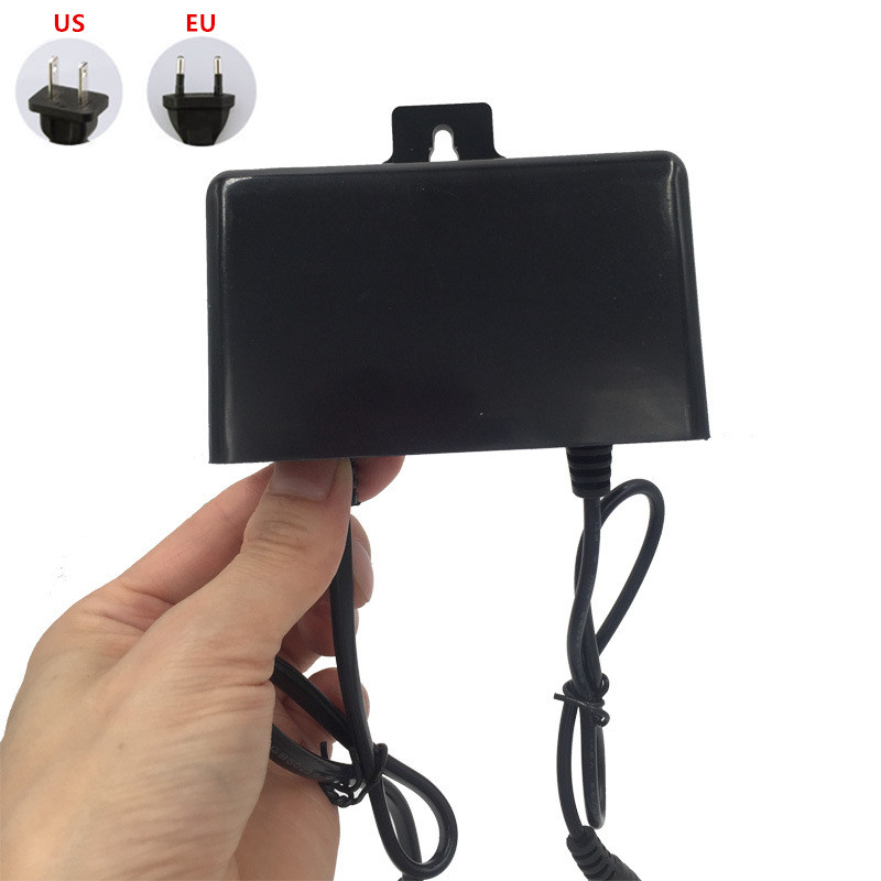 DC <font><b>12V</b></font> 2A <font><b>3A</b></font> Outdoor Waterproof Power Supply <font><b>Adapter</b></font> Charger CCTV Security Camera Power Supply <font><b>Adapter</b></font> AC 100V - 240V image
