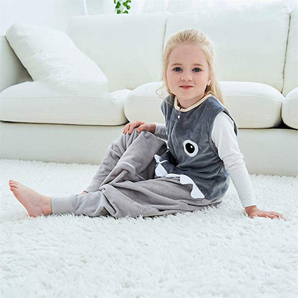 Kids Tales Baby Sleepwear Wearable Blanket Cute Cotton Sleeping Bags Night Gown
