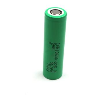 C amp P Sam Sung 25R 18650 2500mAh 1 sztuk INR18650-25R Li-Ion High Power Tool akumulator szybkość rozładowania 8C prąd 20A 3 6V 2 5Ah tanie i dobre opinie CN (pochodzenie) Tylko baterie Pakiet 1 1 pieces