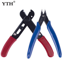 YTH wire stripper stripping Hand Tools Cable Pliers Side Cutters strippers 5 Mini Electronic Cutting Trimming