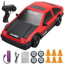 Car-Toy Model Remote-Control Drift Racing-Car AE86 4wd Rc GTR Rapid Vehicle