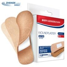 Лейкопластырь износостойкий пластырь для ног 100 шт Медицинский гемостатический Стик дышащий хорошо растягивающийся ZD