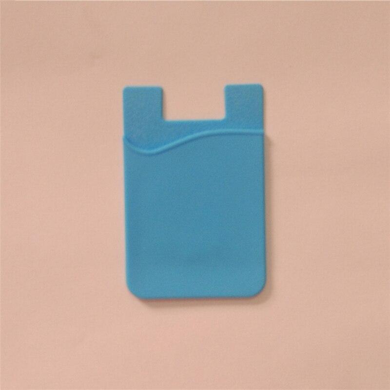 Hot Lightweight Silicone Mobile Phone Smart Wallet Card Cash Credit Card Holder