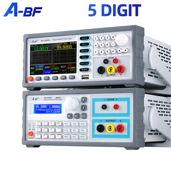 A-BF Programmable Power Supply Linear Voltage Regulator Power Controller High Precision 5 Digit DC Lab Power Supply Color Screen