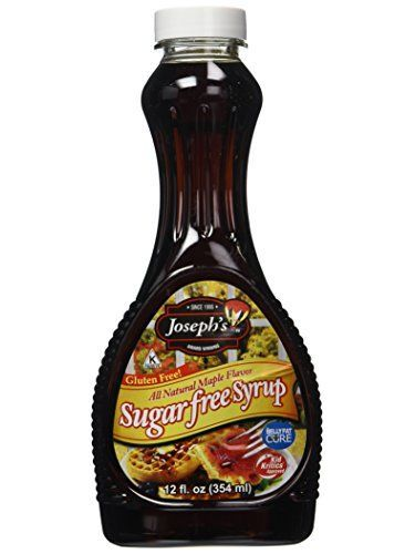 Joseph's Syrup Sugar Free All Natural Maple 354 Ml