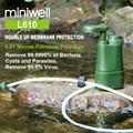 Портативный фильтр для воды для кемпинга, пешего туризма, рыбалки, готовности к аварийным ситуациям, выживания, фильтр для воды/система фильтрации - фото