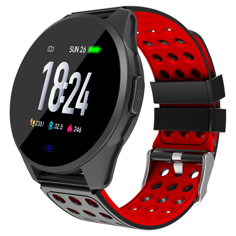 CK20 Smartwatch IP67 Waterproof Wearable Device Bluetooth Pedometer Heart Rate Monitor Color Display Smart Watch For Android/IOS