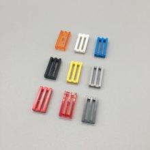 MOC 2412, 30244 1x2 captura técnica de cambio para piezas de bloques de construcción de juguetes educativos creativos de regalo