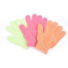 Exfoliating-Mitt-Glove Body-Massage-Sponge Shower-Scrub-Gloves Bath Moisturizing Peeling