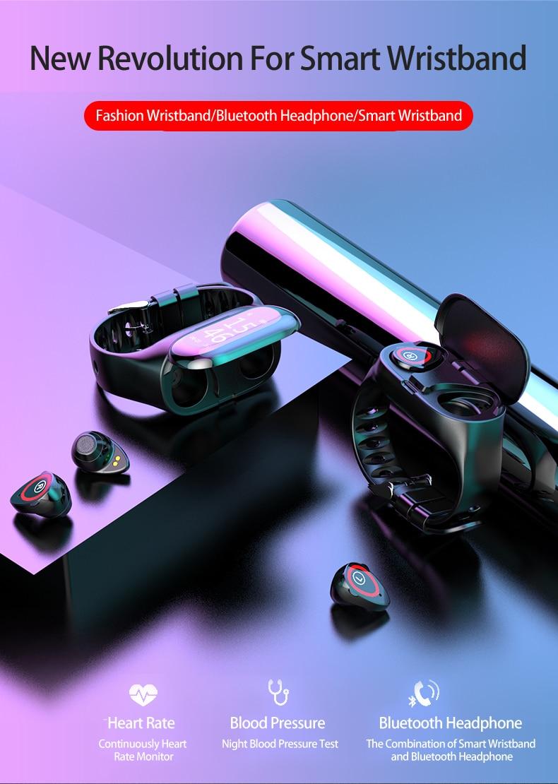 Bluetooth Earbud Smart Band