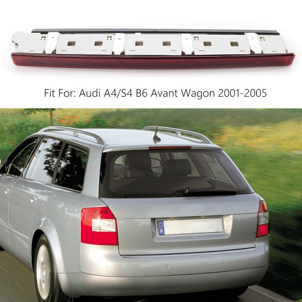 Автомобильный светодиодный фонарь светильник задний фонарь высота уровень тормоза светильник стоп-сигнала 8E9945097 для Audi A4/S4 B6 Авангард унив...