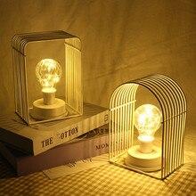 Декоративные вечерние светодиодный светильник в форме дома из кованого железа, Ночной светильник для рождественской вечеринки, бытовой светильник, аксессуары для дома, лампа для дома