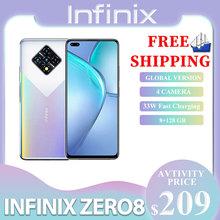 Infinix Zero 8 Celular Versão Global 128 GB 8 GB RAM Octa Core 4 90 hz 6.8