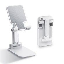 Mobile Phone Holder Desk Stand for iPhone Xiaomi Samsung Foldable Cell Phone Stand Desk Bracket for iPad Tablet Desktop Holder