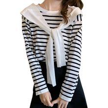 Модные топы для девочек liva 2020 Ранняя осень новый свитер
