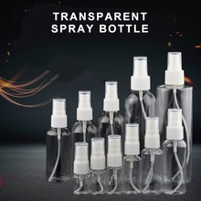 Transparent Empty Spray Bottle 30ml/50ml/100ml Mini Refillable Container Empty Cosmetic Container Bottle Travel Makeup Container 30ml 50ml 100ml 150ml portable travel black aluminum empty bottle perfume spray bottle cosmetic packaging container
