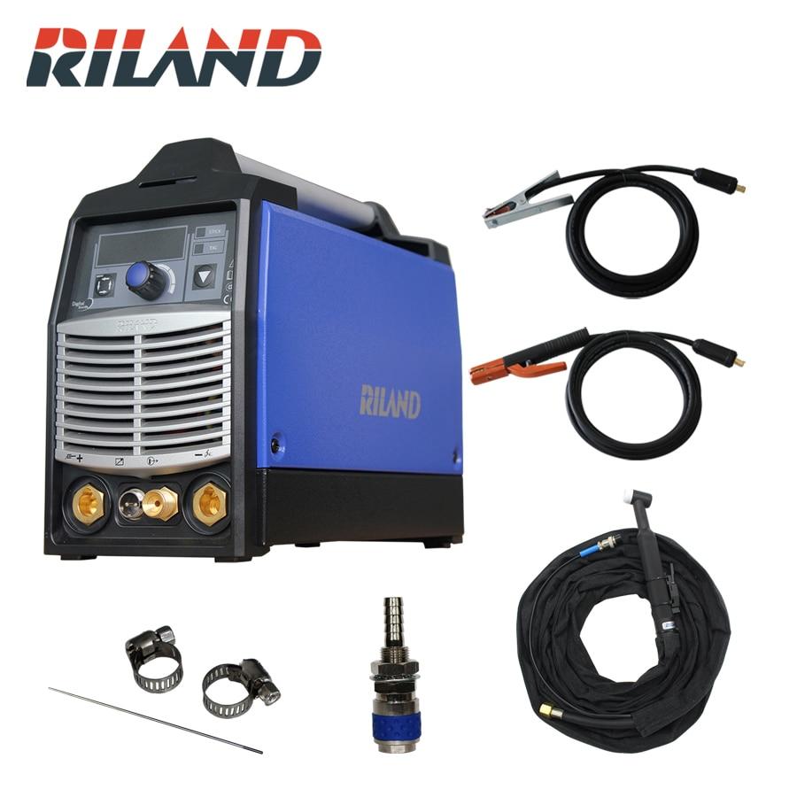 Máquina de Solda Riland Pgdm Inversor Multi Processo Soldador 230 v – Arco Tig 200 Amp