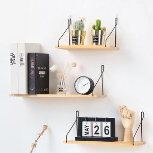 Металлический настенный стеллаж в скандинавском стиле для детской комнаты, органайзер для хранения, домашний декор, детская комната, насте...