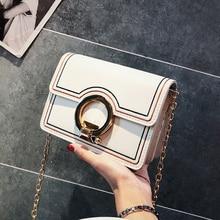 Women Girls Simple Chain Shoulder Messenger Bag  Small Lady Handbag Single Slanting 2019 Luxury Handbags Women Bags Designer недорго, оригинальная цена