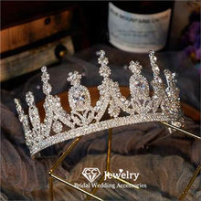 CC Wedding Crown Women Accessories Engagement Hair Ornaments Bridal Hairbands Jewelry Charms Princess Tiaras Luxury Diadems HS47