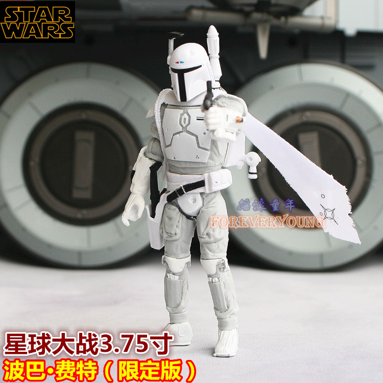 3.75inch Star wars The Mandalorian Boba Fett anime action & toy figures model toys for children Limited edition
