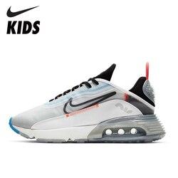 NIKE AIR MAX enfants chaussures de course coussin d'air enfants baskets respirant anti-dérapant homme chaussures CT7698 CT7695