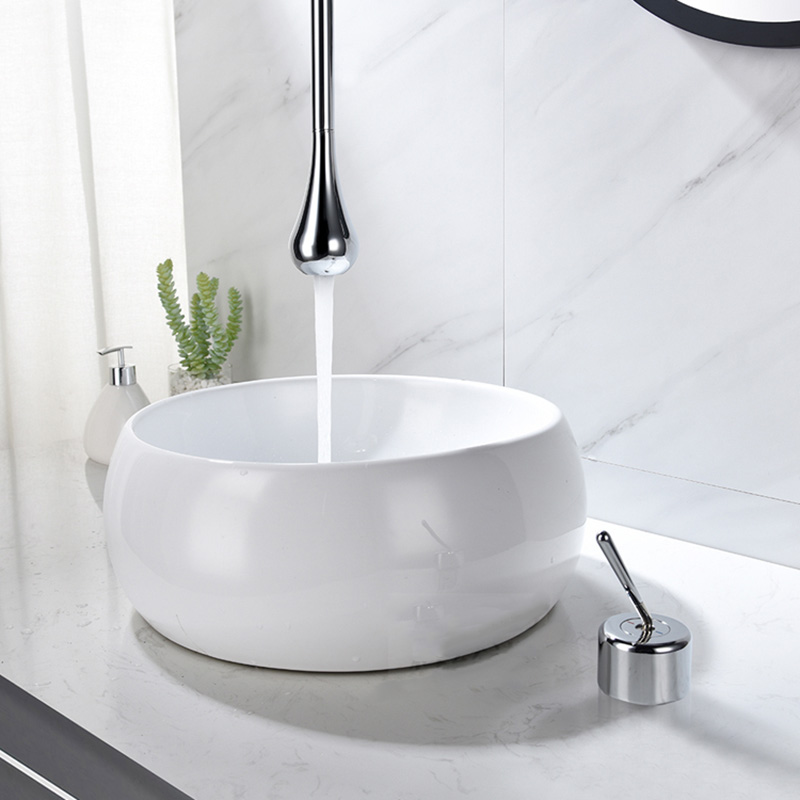 Basin Faucet Wall Mounted Bathroom