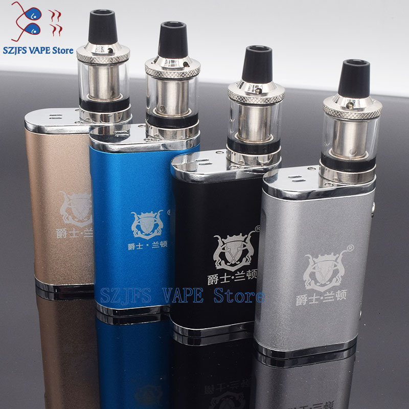 Electronic Cigarette JSLD 80W Kit Vape Built In 2000mAh Battery Box Mod Large Smoke Steam Vape Kit VS TXW 80w Vape E Cigarette